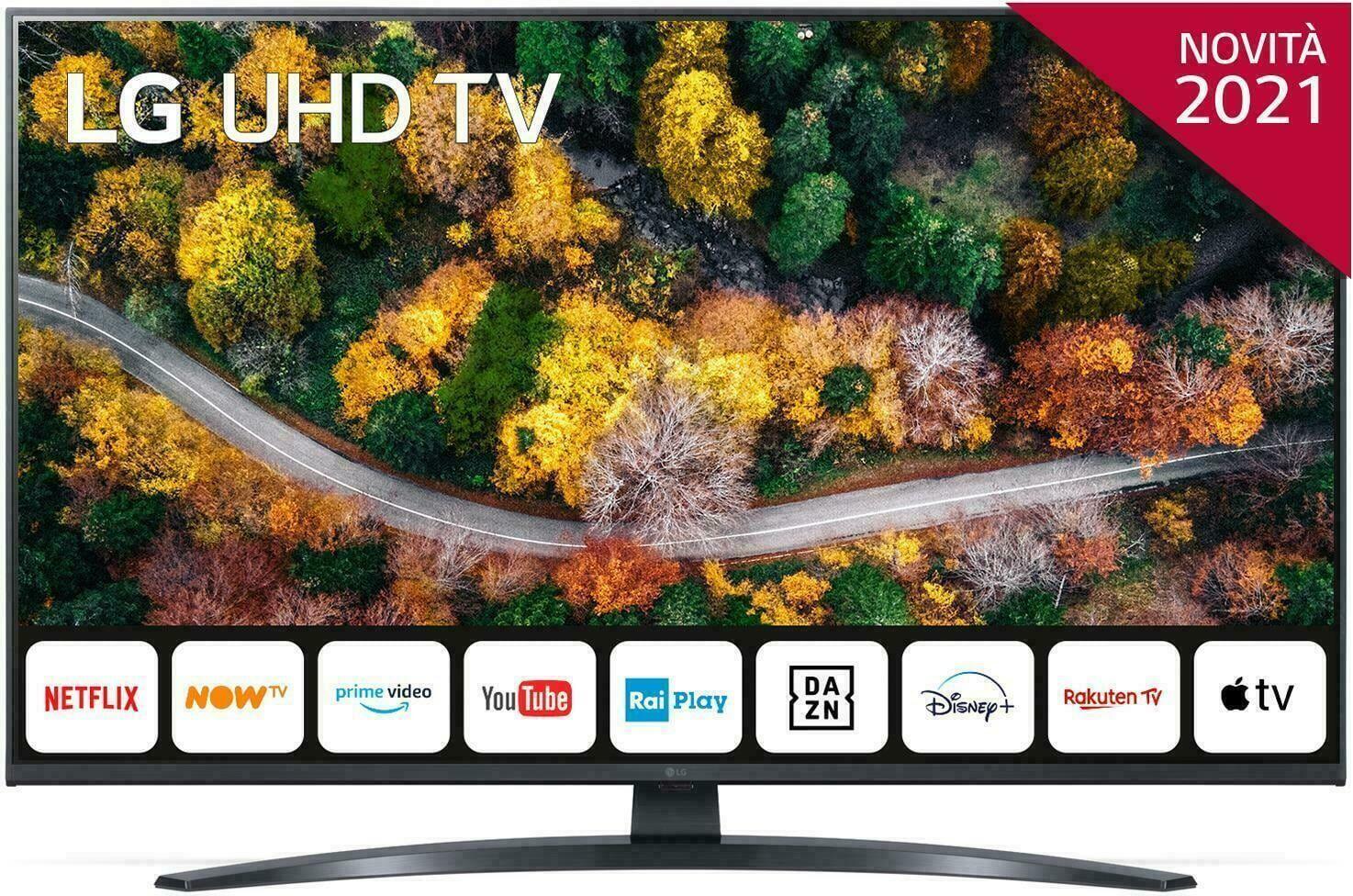 LG 43up78003 Smart Tv 43 Pollici 4k Ultra Hd Televisore Led Webos Wifi - 43up78003