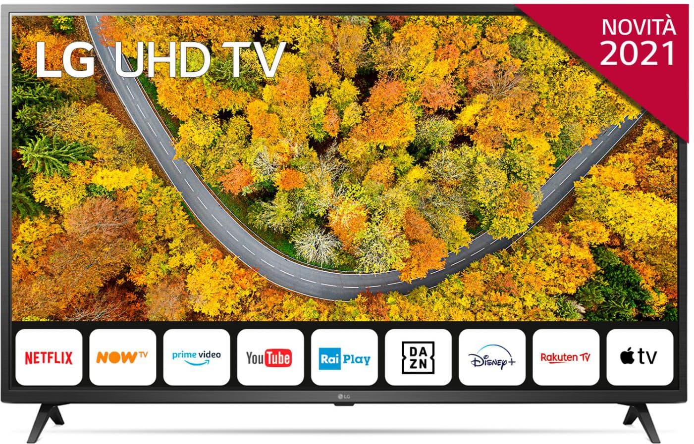 LG 55up75006lf.Api Smart Tv 55 Pollici 4k Ultra Hd Display Led Televisore Smart Webos 6.0 - 55up75006lf.Api