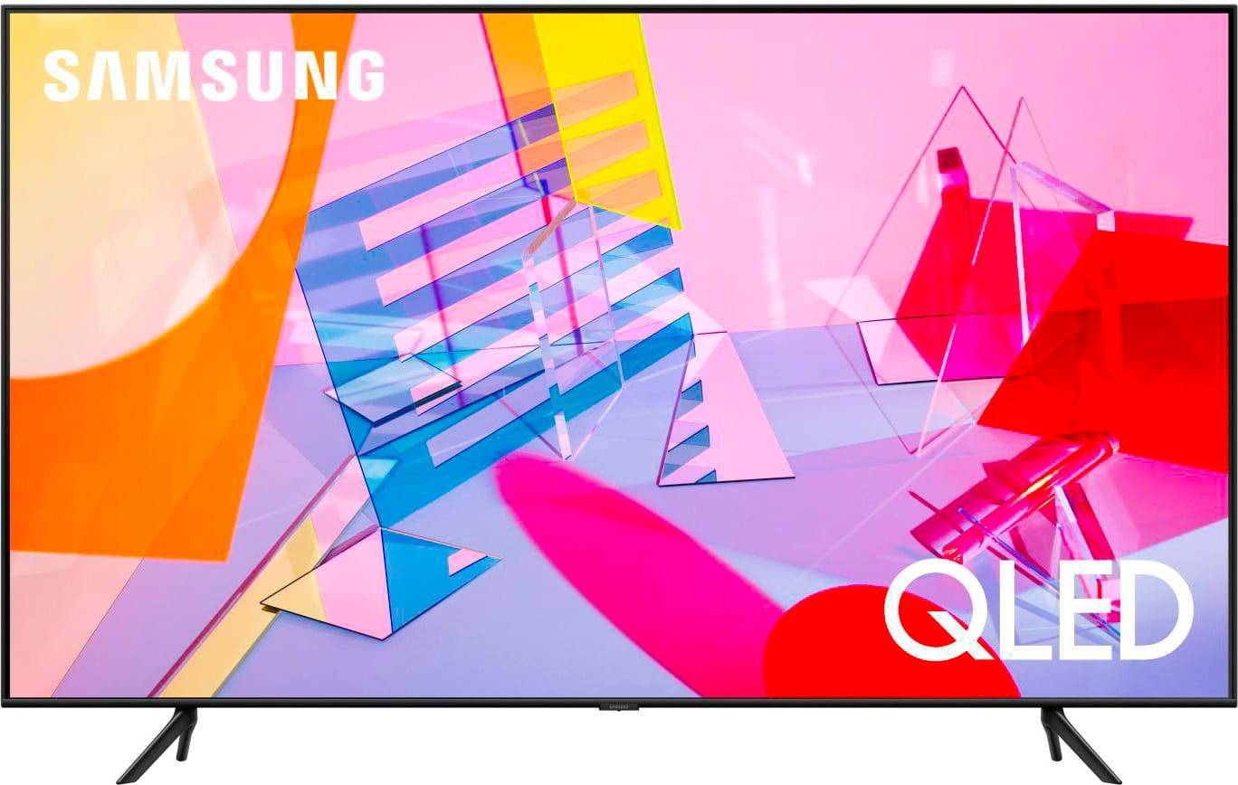 Samsung Qe55q60tau Smart Tv Led 55 Pollici 4k Ultra Hd Televisore Qled Dvb T2 Wifi Bluetooth - Qe55q60tau Serie 6 Garanzia Italia
