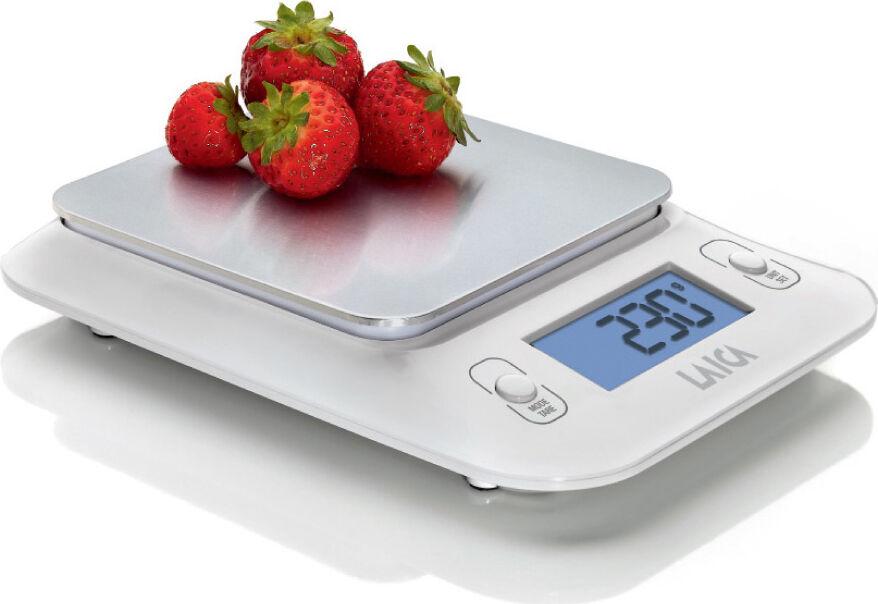 Laica Ks3010w Bilancia Da Cucina Digitale Elettronica Massimo Peso Rilevabile 3 Kg Colore Bianco Ks3010w