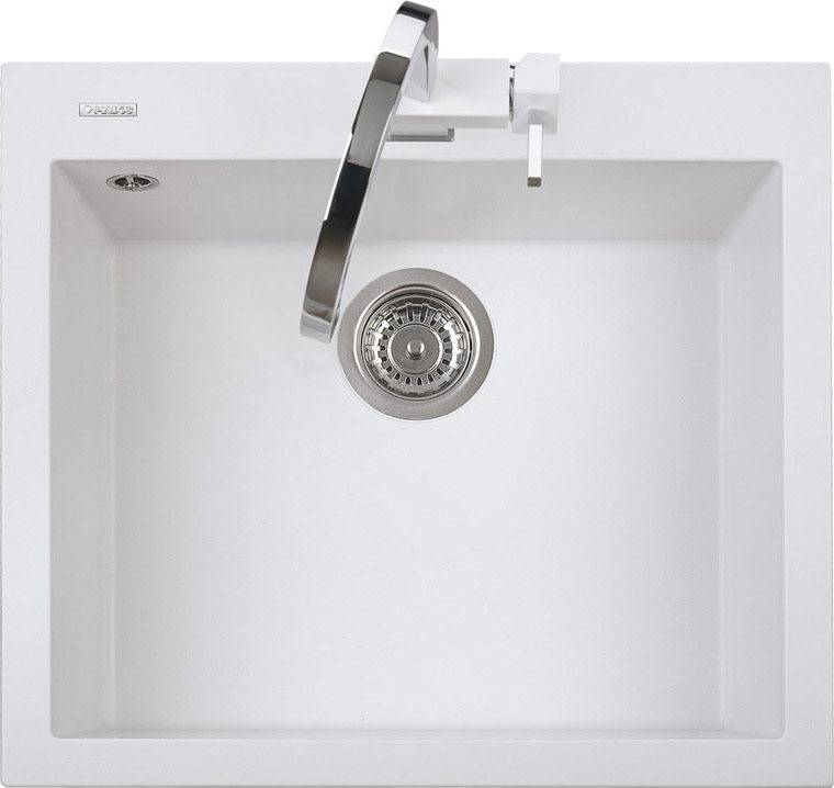 plados On5610ug58 Lavello Cucina Fragranite 1 Vasca Incasso Larghezza 56 Cm Materiale Ultragranit Colore Bianco Latte Ug58 - On5610 Serie One