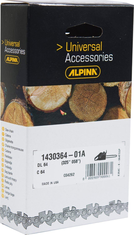 alpina 1430153 Catena Motosega Passo 3/8 Spessore 1.3 Mm Maglie 53 Per Modello Cp38 - 1430153