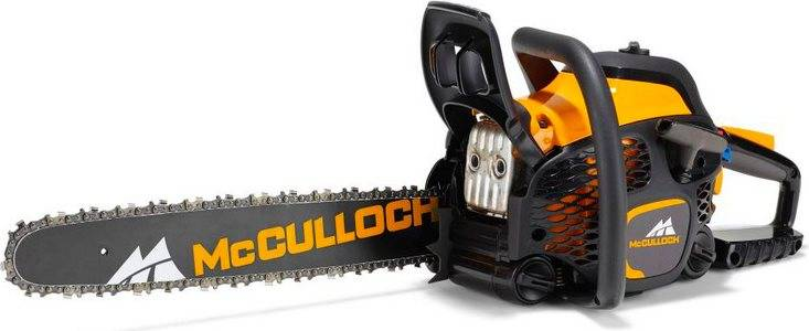 "mcculloch 967300301 Motosega Da Potatura Motore 50 Cc Potenza 2,1 Kw Barra 45 Cm Passo 3/8"" - 967300301 Cs 50s"