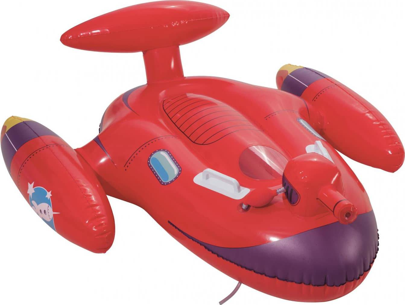 bestway 41100 Navicella Spaziale Gonfiabile In Vinile Mare Piscina Cavalcabile Gonfiabile Per Bambini - 41100