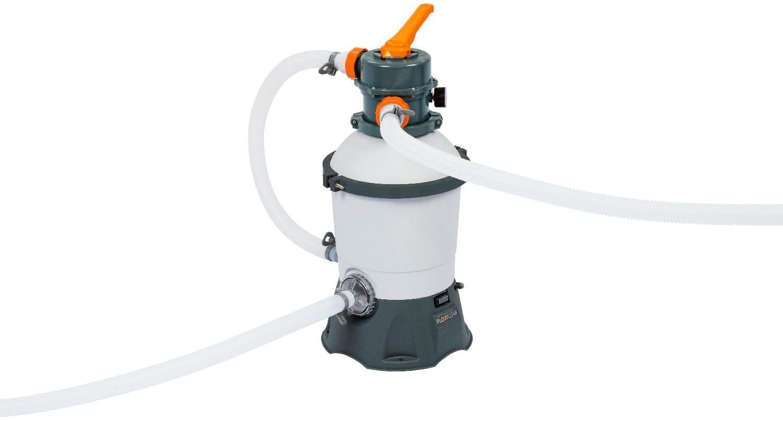 bestway 58515 Pompa Filtro A Sabbia Capacità 2.006 L/h Compatibile Per Piscine Fino A 16.000 L - 58515