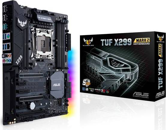 Asus 90mb0ub0-M0eay0 Scheda Madre Lga 2066 Chipset Intel X299 Per Cpu Intel Core I7 Ddr4-Sdram Motherboard Atx - 90mb0ub0-M0eay0 Tuf X299 Mark 2