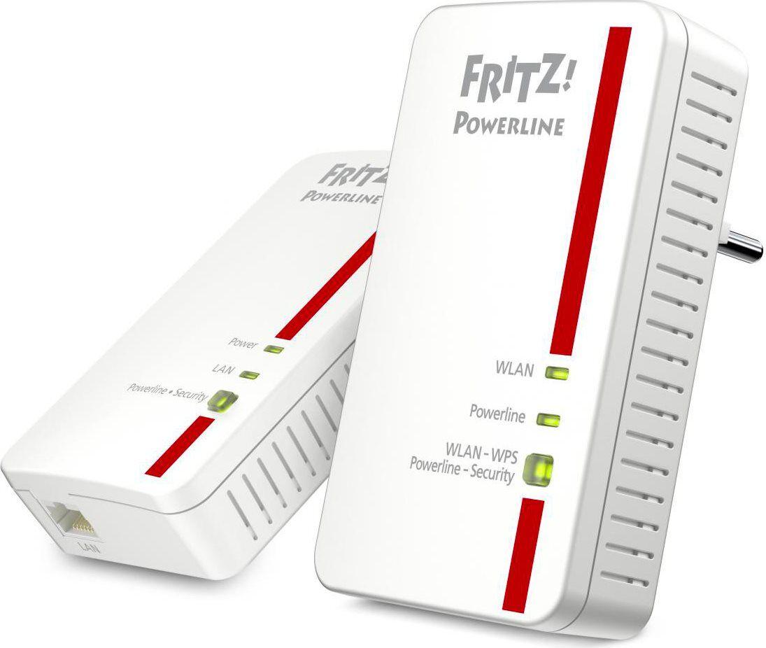 avm 20002755 Powerline Adattatore Di Rete Gigabit Ethernet 1200 Mbit/s Wifi Base-T - 20002755 1240e Wlan