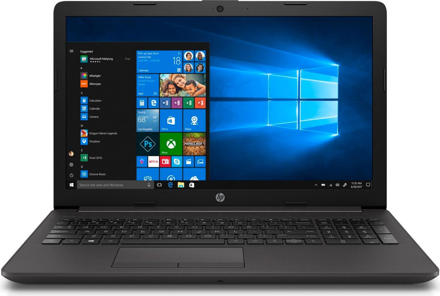 HP 6bp89ea 250 G7 Notebook N4000 Intel Celeron Hdd 500 Gb Ram 4gb 15.6 Pollici Computer Portatile Windows 10 - 6bp89ea