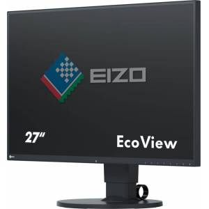 Eizo Ev2750-Bk Monitor Pc 27 Pollici 2560 X 1440 Luminosità 350 Cd/m² Risposta 5 Ms Hdmi Displayport Dvi - Ev2750-Bk