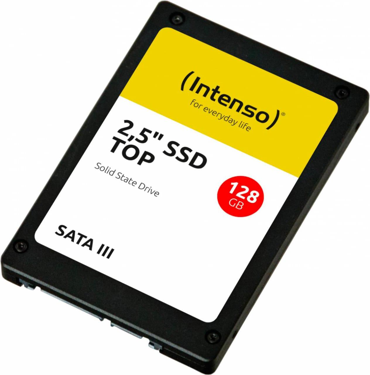 intenso 3812430 hard disk ssd 128 gb 2.5 serial ata iii supporto smart - 3812430