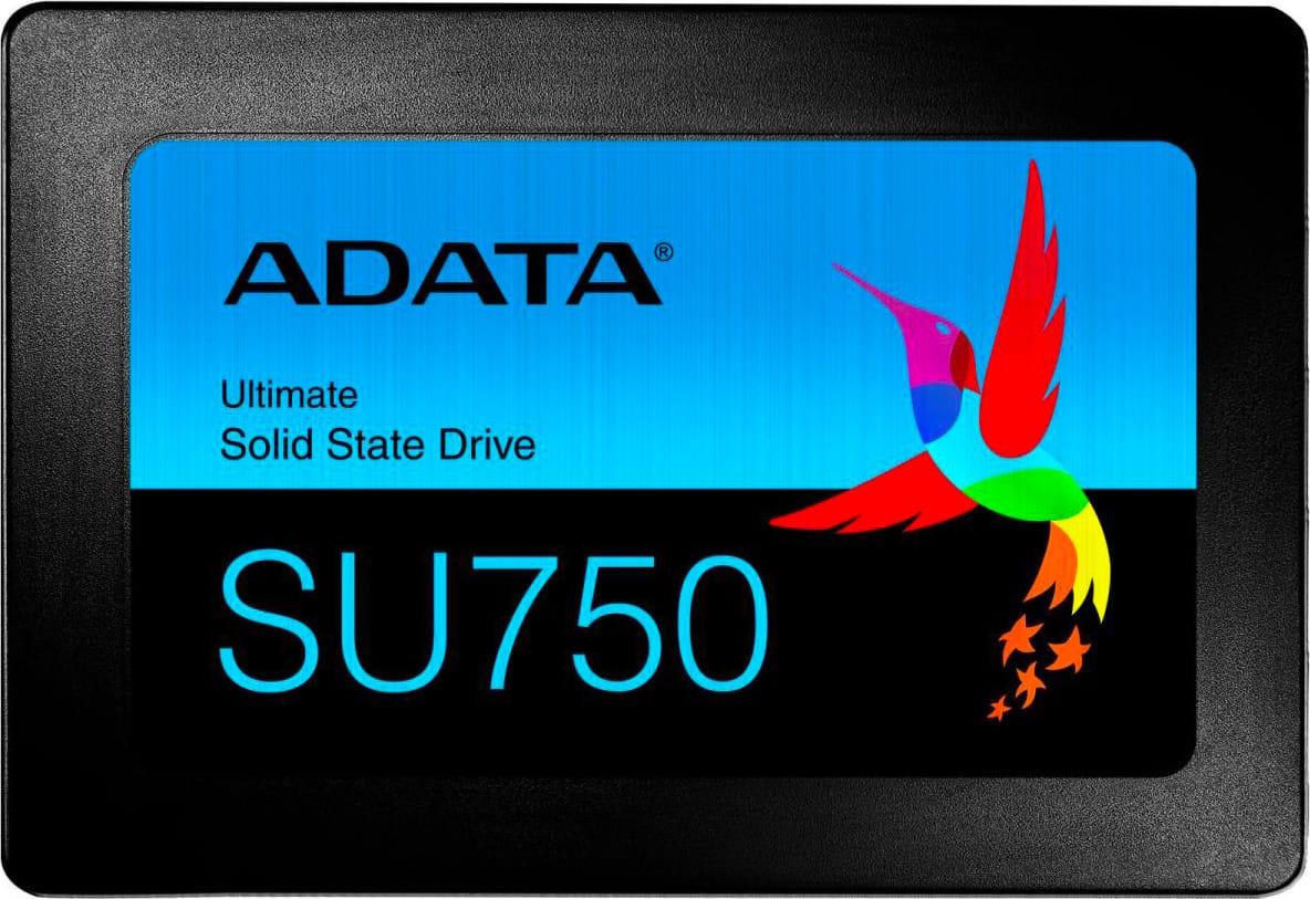 """adata Asu750ss-512gt-C Ssd 512 Gb 2.5"""" Serial Ata Iii Velocità Di Scrittura/lettura 550/520 Mb/s - Asu750ss-512gt-C Su750"""
