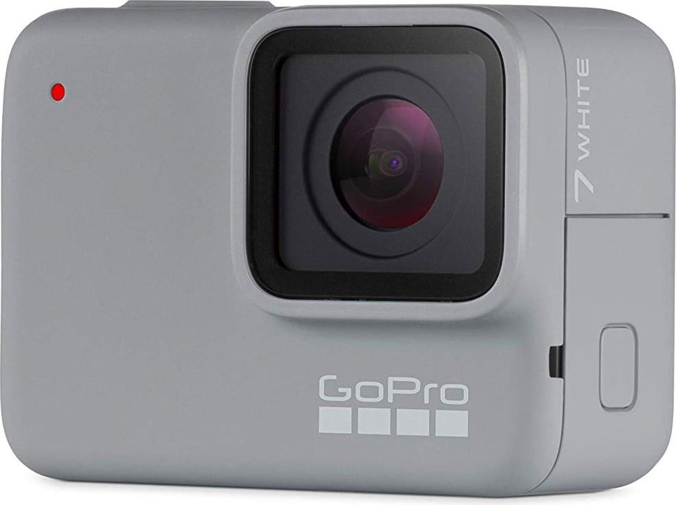 gopro Chdhb-601 Action Cam Videocamera Full Hd Display Touch Screen Risoluzione 10 Mpx Impermeabile Slow Motion 2x Wifi Colore Bianco - Chdhb-601 Hero 7