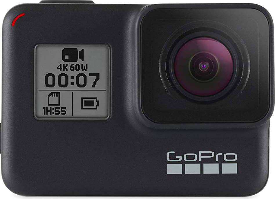 gopro Chdhx-701 Action Cam Videocamera 4k Display Touch Screen Risoluzione 12 Mpx Impermeabile Gps Wifi Slow Motion 8x Colore Nero - Chdhx-701 Hero 7