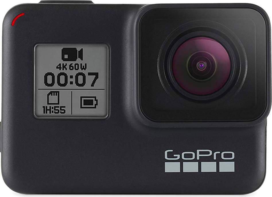 gopro Chdhx-701 Action Cam Videocamera 4k Display Touch Screen Risoluzione 12 Mpx Impermeabile Gps Wifi Slow Motion 8x Colore Nero - Chdhx-701 Hero 7