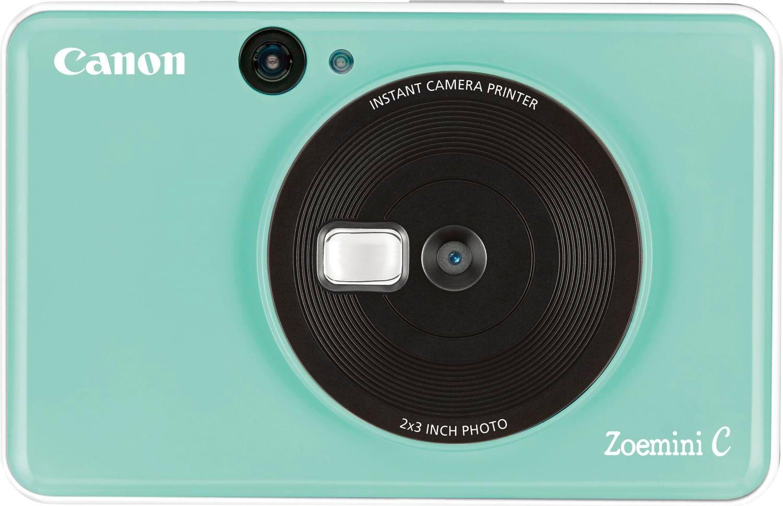 Canon 3884c007 Fotocamera Digitale Istantanea 5 Mpx Capacità 10 Fogli 5 X 7,5 Cm Stampa Zink Risoluzione Stampa 314 X 500 Dpi Colore Verde Menta - Zoemini C