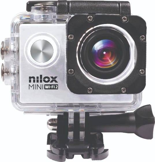 nilox Nxmwf2001 Action Cam Videocamera 4k Ultra Hd Fotocamera 20 Mpx Sensore Cmos Display Lcd 2