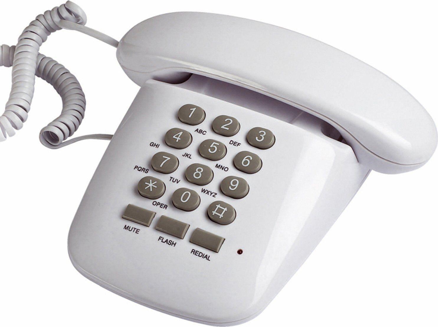 Brondi Sirio Bianco Telefono Fisso A Filo Sirio Bianco