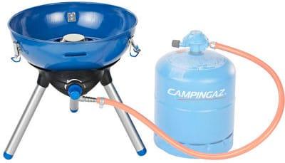 campingaz 2000035499 Barbecue A Gas Da Esterno Bbq Da Giardino Potenza 2000 Watt Ø 36x42 Cm - 2000035499 - Party Grill 400