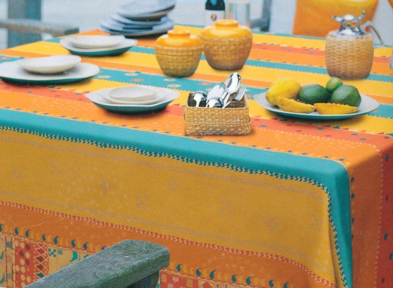 bassetti Mayu - 270x270 / Arancio Telo Copridivano 2 Posti Granfoulard Telo Arredo Copritutto 100% Cotone 270x270 Cm Fantasia Colore Arancio - Mayo