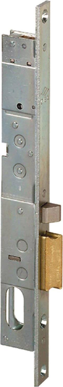 cisa 14021181 Serratura Elettrica Per Serramenti In Alluminio Elettroserratura Da Infilare 20 Mm Per Montanti Con Scrocco Autobloccante Entrata 18 Mm Dx Scatola 28,5x200 Mm - 14021181