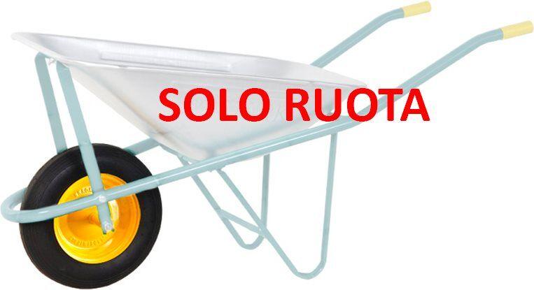 bragagnolo 9rut00p Ruota Con Disco In Acciaio Per Carriola Eurostark - 9rut00p