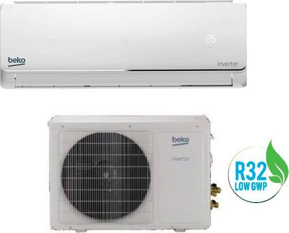 Beko Bivpa120+bivpa121 Climatizzatore 12000 Btu /h Inverter Monosplit Condizionatore Con Pompa Di Calore Classe A++/a+ R32 (Unità Interna + Unità Esterna) - Bivpa120+bivpa121