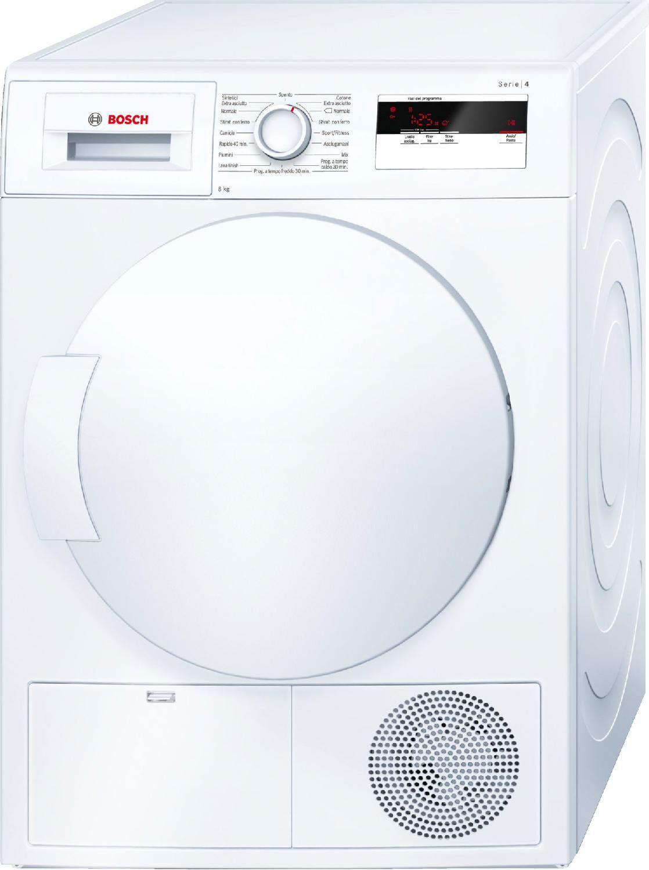Bosch Wth83008it Asciugatrice Asciugabiancheria Capacità Di Carico 8 Kg Classe Energetica A+ Profondità 64 Cm A Condensazione Con Pompa Di Calore - Wth83008it