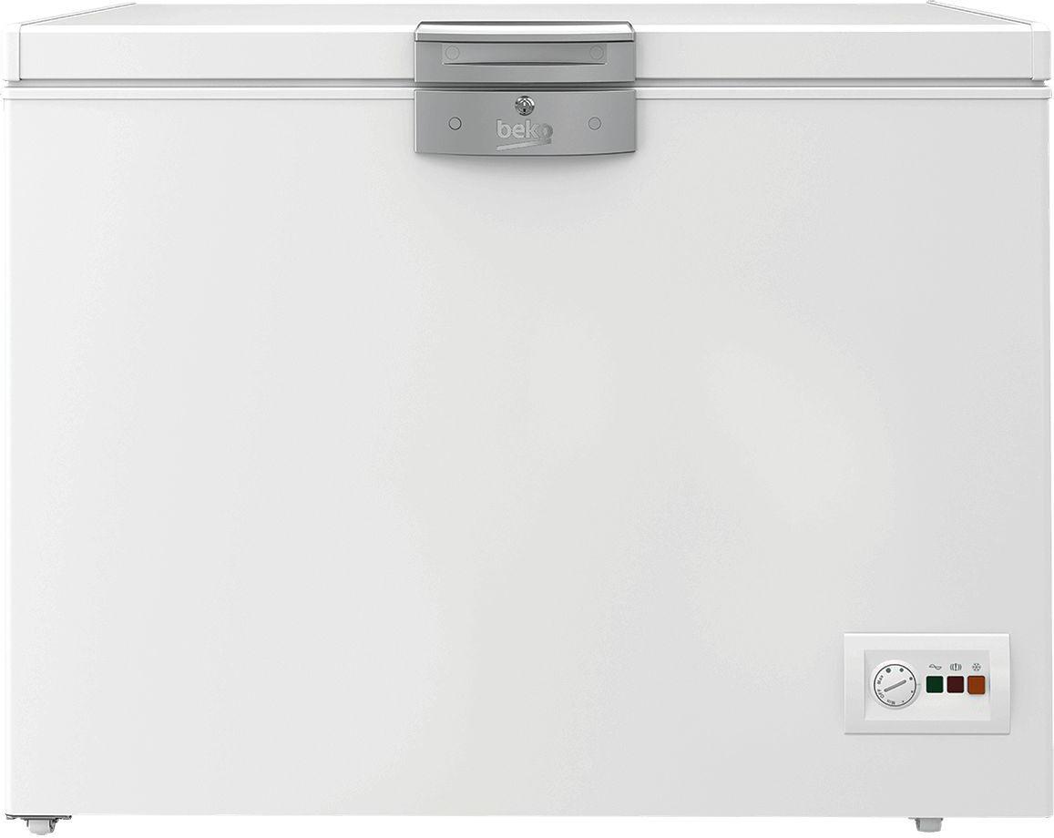 Beko Hsa32520 Congelatore A Pozzetto Pozzo Orizzontale Capacità 298 Litri Classe Energetica A+ Capacità Di Congelamento 15 Kg/24h Raffreddamento Statico - Hsa32520