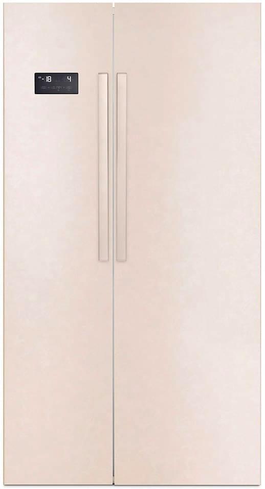 Beko Gn163120b Frigorifero Americano Side By Side Capacità 353 Litri Classe Energetica A+ Raffreddamento Total No Frost Colore Beige - Gn163120b