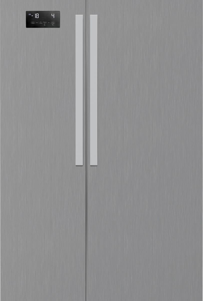 Beko Gn 163120 Pt Frigorifero Americano Side By Side Capacità 635 Litri Classe Energetica A+ Raffreddamento No Frost Compressore Inverter Colore Inox - Gn 163120 Pt