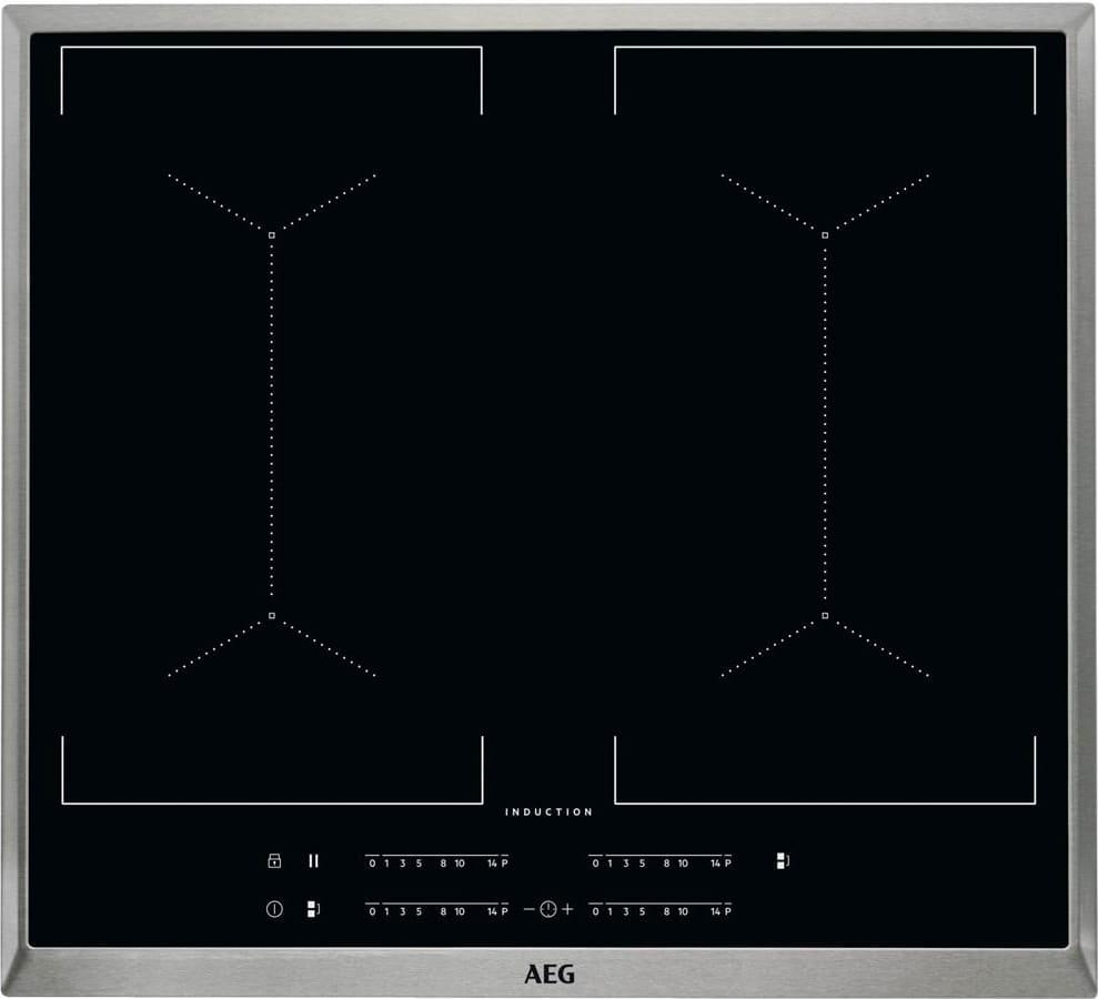 AEG Ike64453xb Ike64453xb Piano Cottura Induzione 4 Fuochi 60 Cm