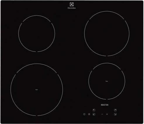 Electrolux Ehh6240iok Piano Cottura Induzione Elettrico 4 Fuochi Da Incasso Larghezza 60 Cm Comandi Touch Control In Vetroceramica Colore Nero - Ehh6240iok