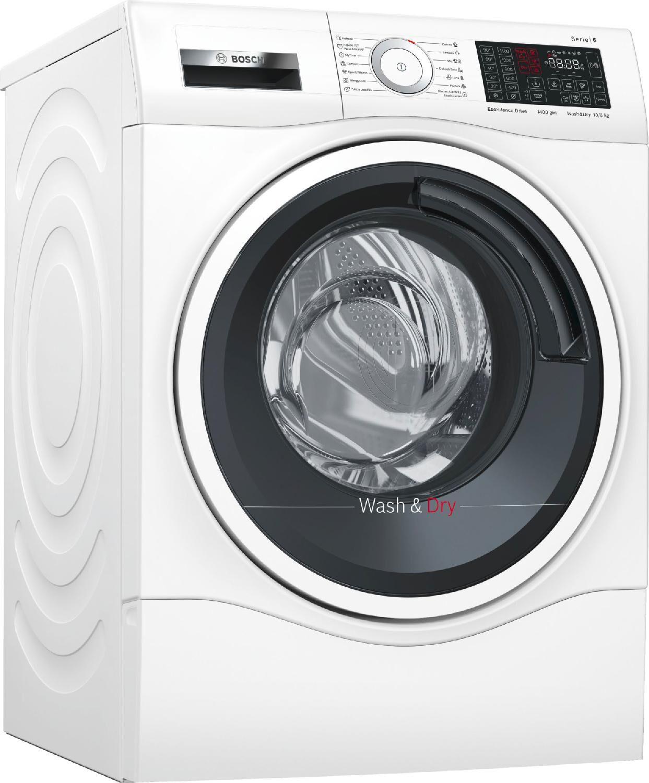 Bosch Wdu28540it Lavasciuga Lavatrice Asciugatrice Capacità Di Carico 10 Kg Classe Energetica A Profondità 66 Cm Centrifuga 1400 Giri Motore Inverter Ecosilence Drive / Silenziosa - Wdu28540it Serie 6