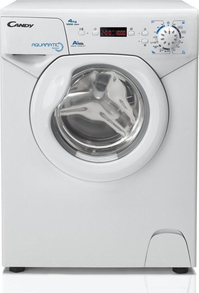 Candy Aqua 1042d1-S Lavatrice Slim Carica Frontale Capacità Di Carico 4 Kg Classe Energetica A+ Profondità 45 Cm Centrifuga 1000 Giri - Aqua 1042d1-S Aquamatic