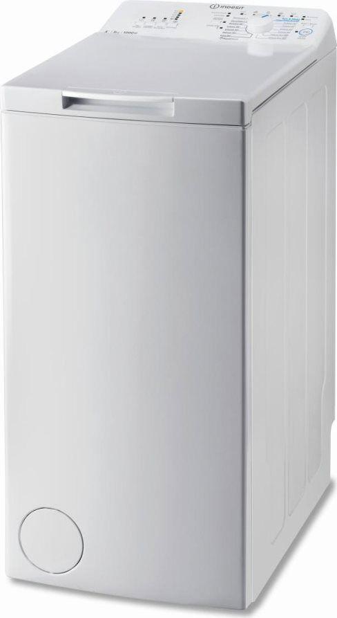 Indesit Btwa 51052 Lavatrice Carica Dall'Alto Capacità Di Carico 5 Kg Classe Energetica A++ Profondità 60 Cm Centrifuga 1000 Giri Partenza Ritardata - Btwa 51052