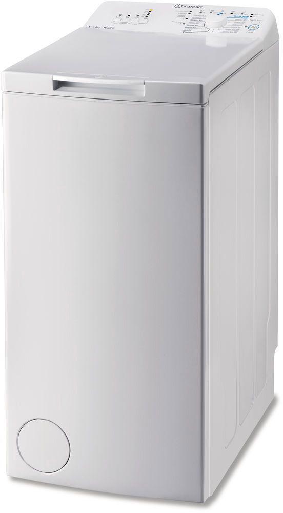 Indesit Btwa 61052 Lavatrice Carica Dall'Alto Capacità Di Carico 6 Kg Classe Energetica A++ Profondità 60 Cm Centrifuga 1000 Giri Partenza Ritardata - Btwa 61052