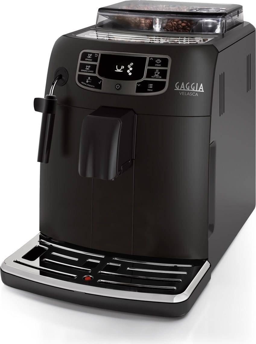 Gaggia Ri8260/01 Macchina Caffè Automatica Espresso Con Macinacaffè Ed Erogatore Di Vapore Sistema Di Ricarica Caffè In Grani - Ri8260/01 Velasca