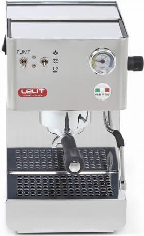 lelit Pl41plus Macchina Caffè Espresso Manuale Con Erogatore Di Vapore Sistema Di Ricarica Cialde / Macinato In Polvere 2 Tazze Colore Inox - Pl41plus Glenda