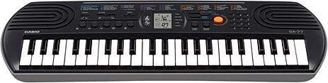 Casio Sa-77 Tastiera Musicale Midi 44 Tasti Colore Nero - Mini Sa-77