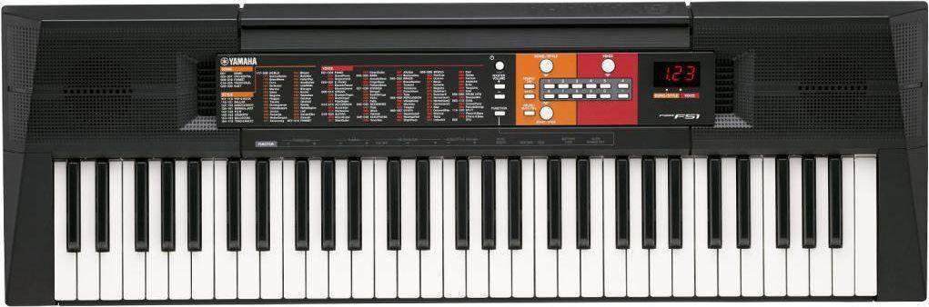 Yamaha Psr-F51 Tastiera Musicale 61 Tasti Mini Jack Amplificatore 2x2.5 W - Psr-F51