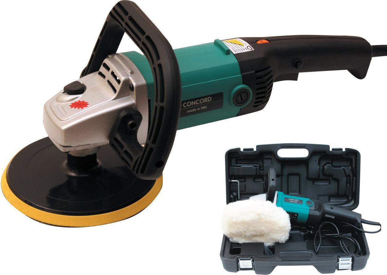 concord Lu 1200 Lucidatrice Potenza 1300 Watt Velocità 600÷3000 Orbite/min - Lu 1200