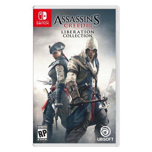 ubisoft liberation assassin's creed iii - liberation collection avventura 18+ switch - 107672