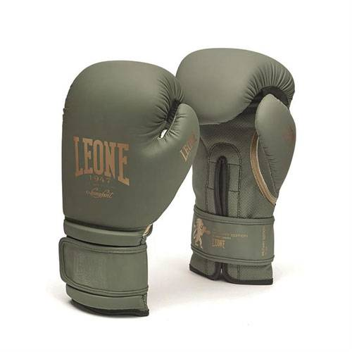 Leone GN059G Guanti Boxe Military Edition LEONE 1947 - VitaminCenter