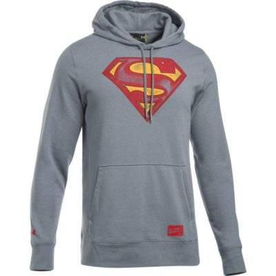 UNDER ARMOUR Retro Superman Tribl Hoody  UNDER ARMOUR - VitaminCenter