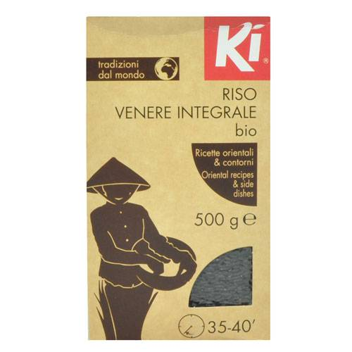 KI Riso Venere Integrale Bio 500 g KI - VitaminCenter