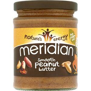 MERIDIAN NATURAL Smooth Peanut Butter 280 g MERIDIAN NATURAL - VitaminCenter