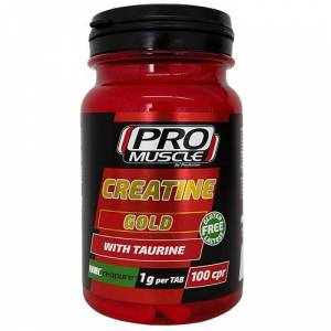 Pro Muscle Creatine Gold 100 cpr