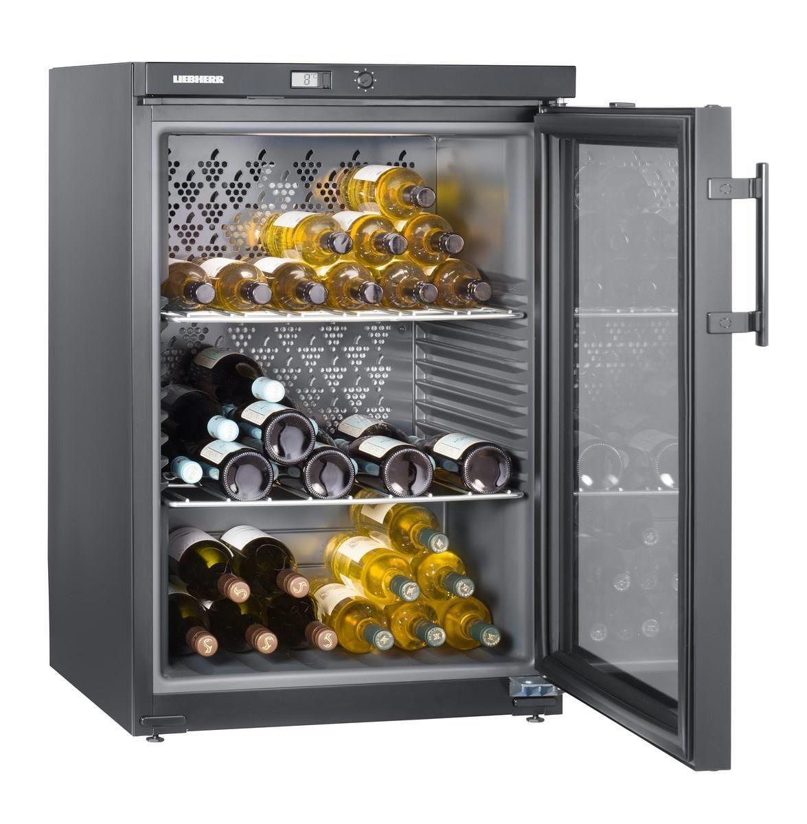 Liebherr WKb 1802 Cantina per Vini climatizzata 66 Bottiglie Classe energetica A 90,1 cm Nero