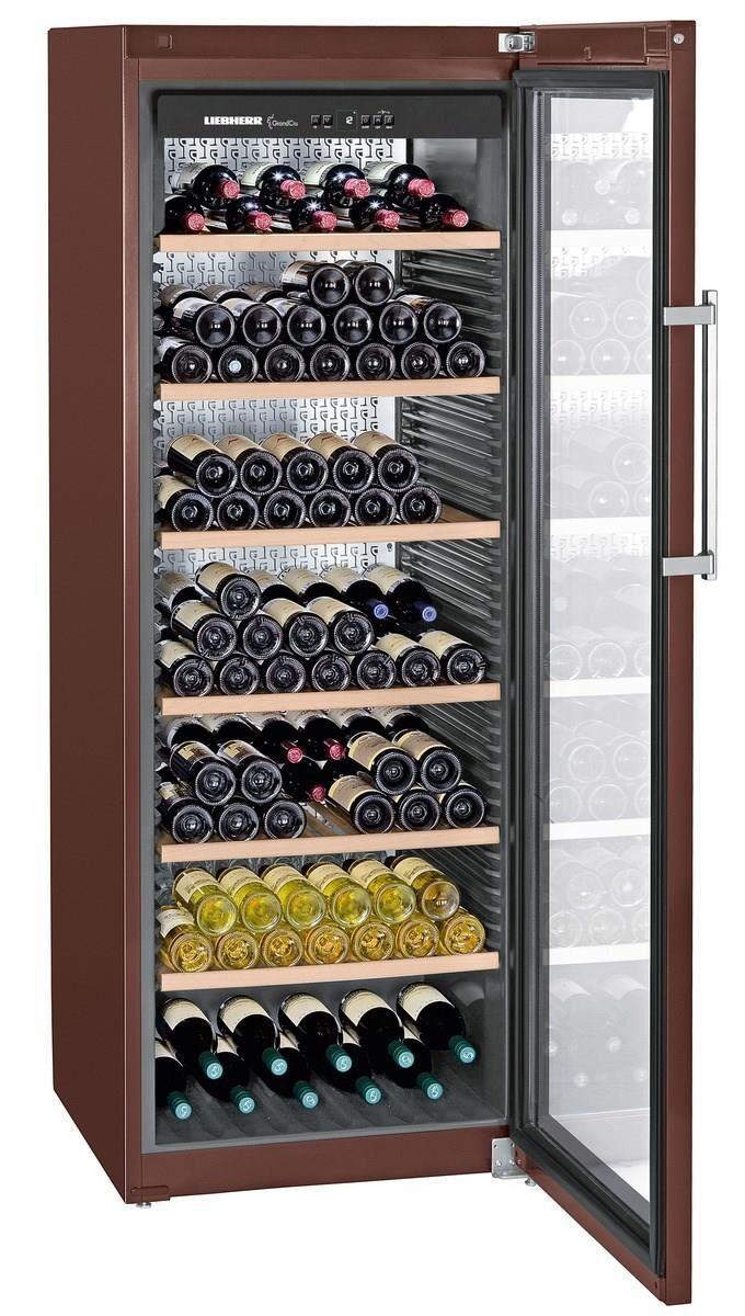 Liebherr WKt 5552 Cantina per Vini climatizzata 253 Bottiglie Classe energetica A+ 192 cm Terra