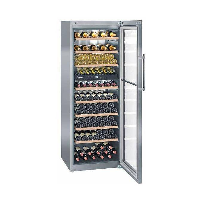 Liebherr WTes 5972 Cantina per Vini temperata 211 Bottiglie Classe energetica A 192 cm Acciaio Inox
